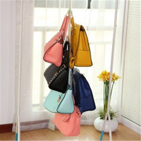 5 Hooks Handbag Bag Purse Holder Shelf Hanger Rack Storage Organizer rear door free shipping