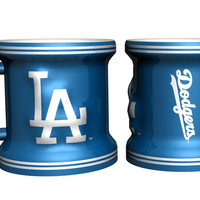 Los Angeles Dodgers Shot Glass - Sculpted Mini Mug