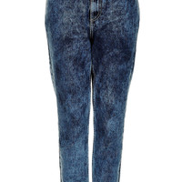 MOTO Bleach Acid Mom Jeans - Jeans - Clothing - Topshop