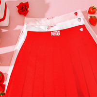 Strawberry Milk Sweet Girl Skirt