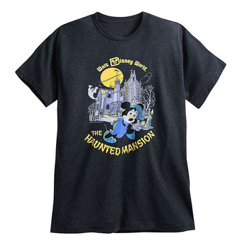 Mickey Mouse YesterEars Haunted Mansion T-Shirt for Adults - Walt Disney World - Limited Release | Disney Store