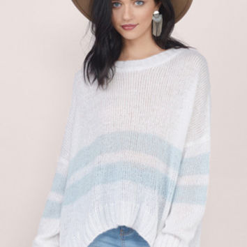 All About Stripes Knit Sweater $42