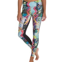 Onzie Two-Tone Long Legging at YogaOutlet.com - Free Shipping