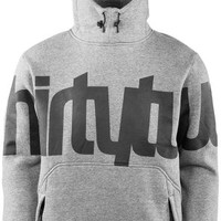 ThirtyTwo Stamped Pullover, Grey Heather « Apparel « ThirtyTwo, Rider Driven Snowboarding
