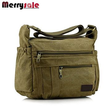 men bag canvas bag men shoulder fashion handbag  message bag