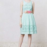 Anthropologie - Bottlegreen Dress