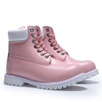 "Women ""Timberland"" Fashion Classic Casual High help Shoes Martin Boots"