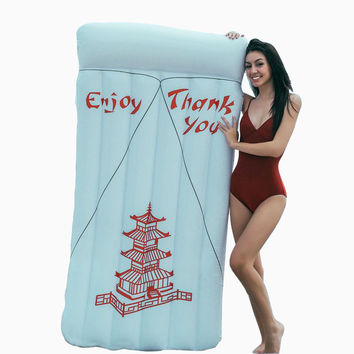 Chinese Take Out Pool Float