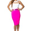 Gold Plated Pencil Skirt