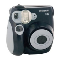 Polaroid 300 Instant Camera - Black (PIC-300B)