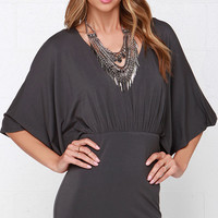 Parade Wave Dark Grey Dress