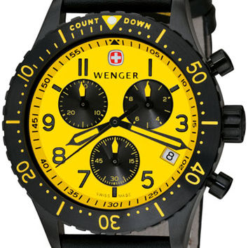 Wenger Men's Swiss Made AeroGraph Chronograph 77002