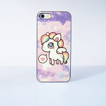 Fashion Cute Unicorn Plastic Case Cover for Apple iPhone 5s 5 6 Plus 6 4 4s  5c