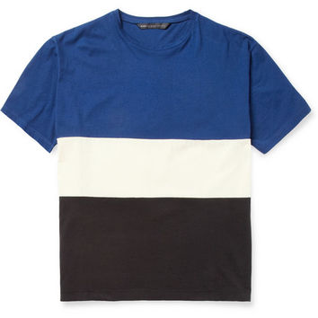 Marc by Marc Jacobs Oversized Striped Cotton-Jersey T-Shirt | MR PORTER