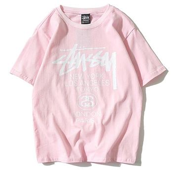 Boys & Men Stussy Fashion Casual Shirt Top Tee