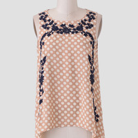 Weekend Away Embroidered Top