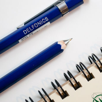 DELFONICS Mechanical Pencil Dark Blue