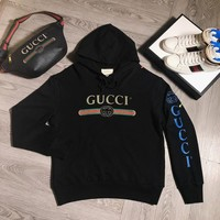 Gucci Women/Men Hot Hoodie Cute Sweater-2