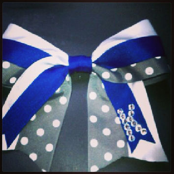 Old Dominion University Hair Bow - ODU