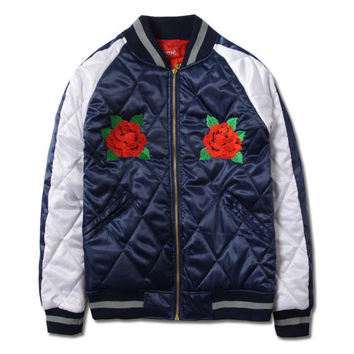 Supreme Quilted Satin Bomber - Fuck This Hype