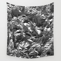 Aluminum Crush Wall Tapestry by Bruce Stanfield
