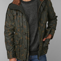 Shades Of Grey By Micah Cohen Camo Waxed Jacket