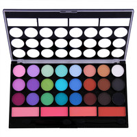 new 2015 channel makeup eyeshadow blush 28 colors beauty makeup set eye shadow eyeshadow palette eye pencil Free shipping 2801