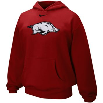 Nike Arkansas Razorbacks Youth Cardinal Classic Logo Pullover Hoodie Sweatshirt - http://www.shareasale.com/m-pr.cfm?merchantID=7124&userID=1042934&productID=528453999 / Arkansas Razorbacks