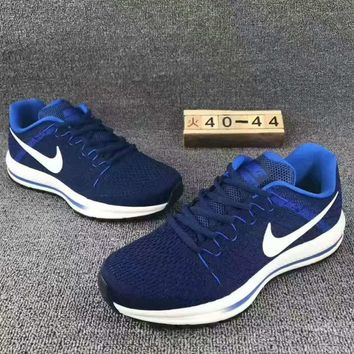 """NIKE"" Fashion Men Running Sport Casual weaving Shoes Sneakers Blue G-CSXY"