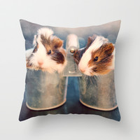 Double Delight Throw Pillow by Tangerine-Tane | Society6