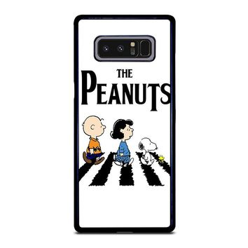 THE PEANUTS SNOOPY CHARLIE BROWN BEATLES Samsung Galaxy Note 8 Case Cover