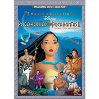 Pocahontas/Pocahontas II: Journey to a New World (2 Discs) (DVD/Blu-ray) (Widescreen)