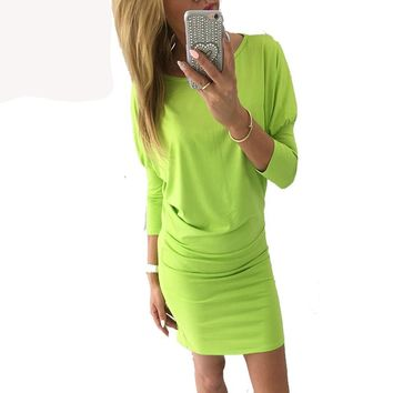 Kandy Color Casual Dress