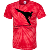TL Karateka Cotton Tie Dye T-Shirt
