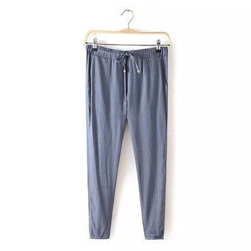 Women's Fashion Casual Pants [4919626436]