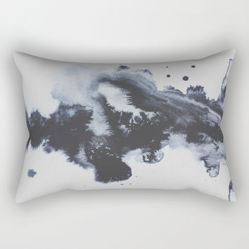 To Say Goodbye Rectangular Pillow by duckyb