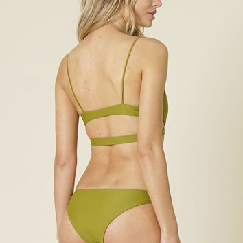 Stone Fox Swim - Malibu Bottom | Avocado