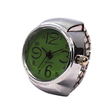 2017 Hot Sale Finger Ring Watch For Women Stainless Steel Quartz-watch Finger Watches Women Unisex Gifts relogio feminino #704
