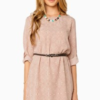 ShopSosie Style : Radonia Shift Dress in Pink