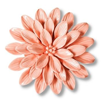 Threshold™ Ceramic Flower Wall Sculpture - Pink