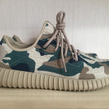 2017 new hot camo Boost Men Shoes camo Shoes 350 Boost Kanye West Running Shoes Sports Shoes Fashion Men Casual Shoes