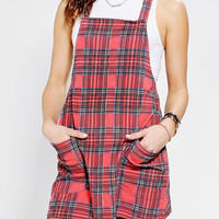 MINKPINK Education Plaid Corduroy Dress - Urban Outfitters