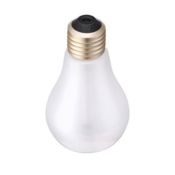 400ml LED Lamp Air Ultrasonic Humidifier for Essential Oil Diffuser, Air Freshener and Mist Maker with LED Night Light