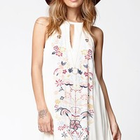 O'Neill Fawn Embroidered Dress - Womens Dress - White