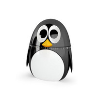 Kikkerland Design    Products   Penguin Kitchen Timer
