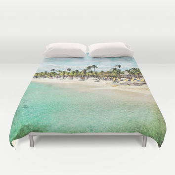 Paradisio Duvet Cover by Jenndalyn