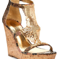 THALIA SODI SAUCO PLATFORM WEDGE SANDALS NATURAL PINK MULTI 8M