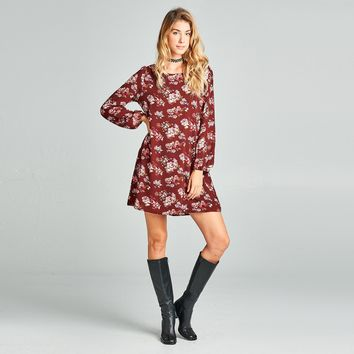 Rosey Shift Dress
