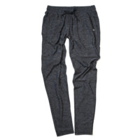 Running Woman Sweats - Charcoal