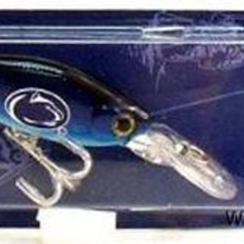 Penn State Nittany Lions Minnow Fishing Lure Hook University of